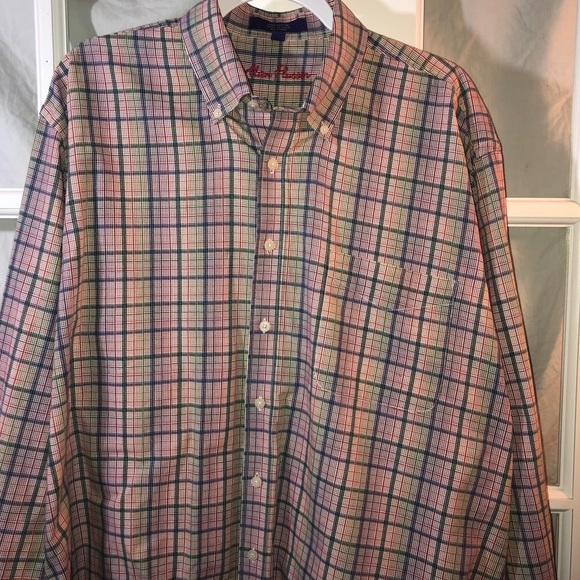 Alan Flusser Other - Alan Flusser Mens Button Down XL